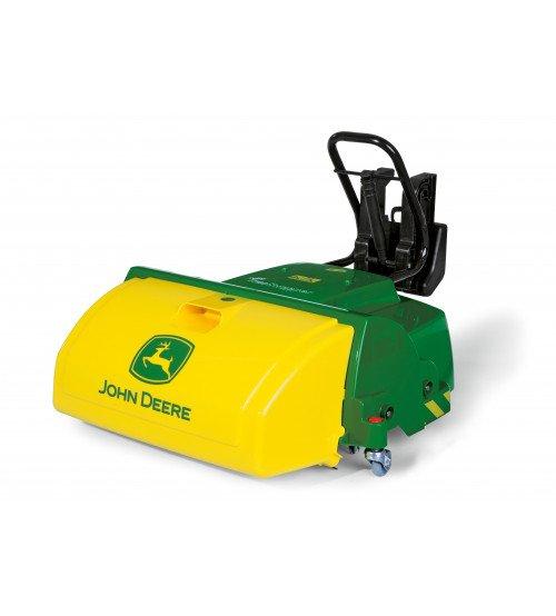 Papildinājums traktoram ar rotējošajam veltnim Rolly Toys rollyTrac Sweeper John Deere 409716