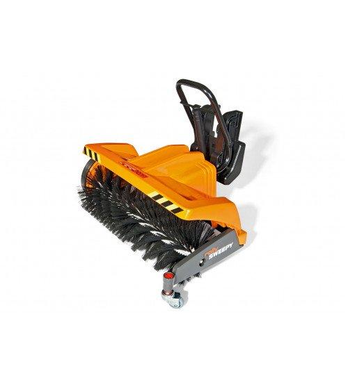 Papildinājums traktoram ar rotējošajam veltnim Rolly Toys rollyTrac Sweepy 409723