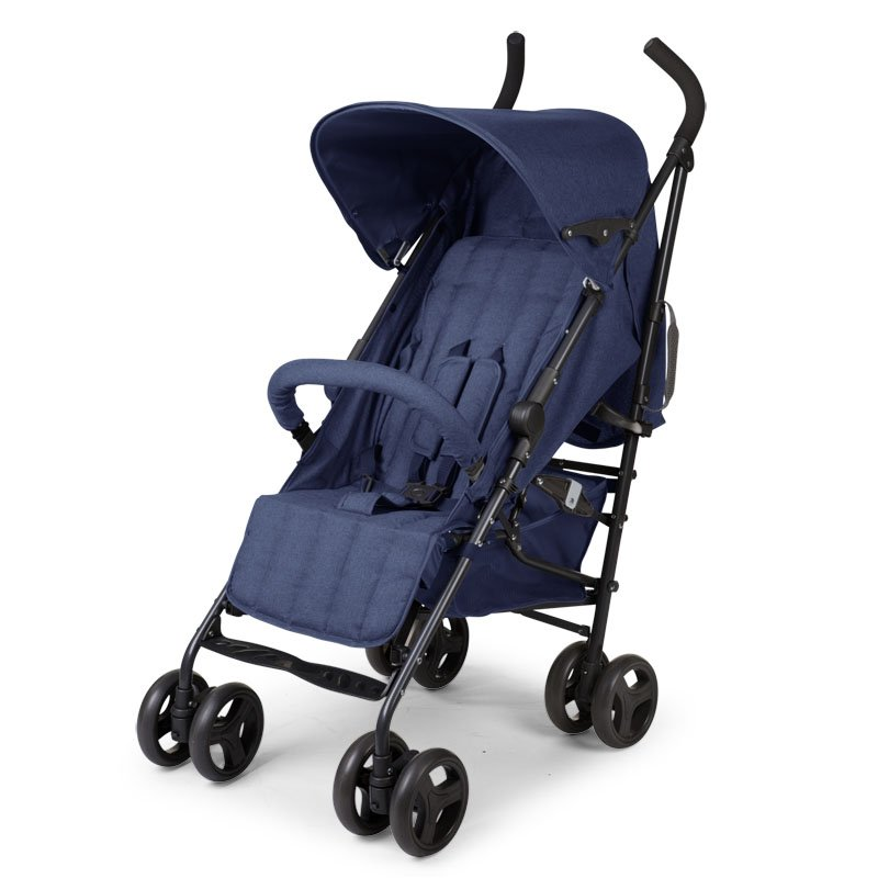 Pastaigu rati CHILDHOME Buggy Multi Pos canvas blue RC+LB+FR