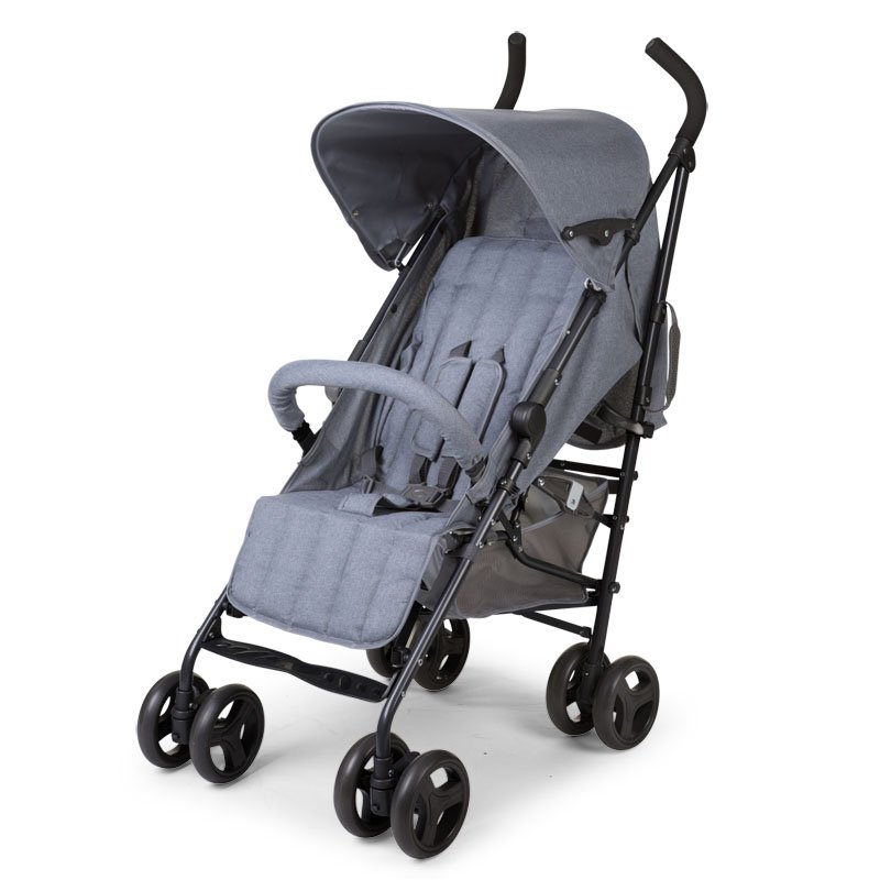Pastaigu rati CHILDHOME Buggy Multi Pos canvas grey