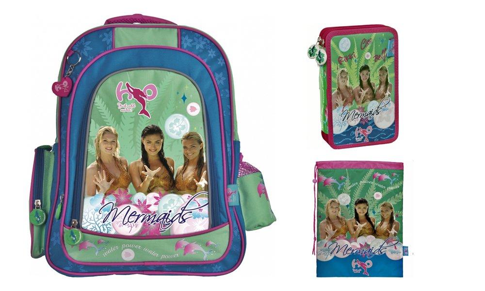 Patio Teen backpack kit H20, Skolēmu komplekts - ergonomiskā, penālis un apavu maiss