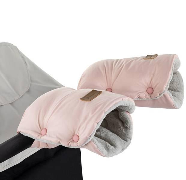 Petite&Mars Jasie Flamingo Pink Roku mufta - cimdi ratiem