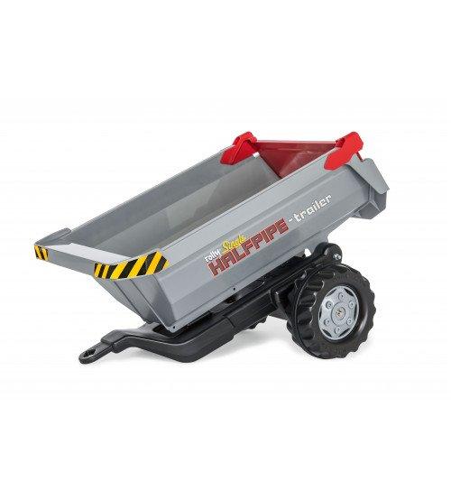 Piekabe mazā traktoriem Rolly Toys  rollyHalfpipe Single 123193