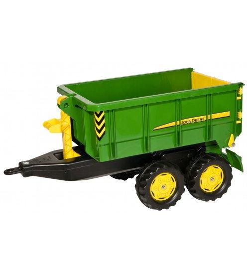 Piekabe traktoriem Rolly Toys rollyContainer John Deere (3 - 10 gadiem) 125098