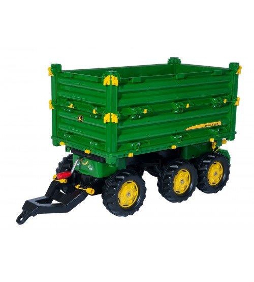 Piekabe traktoriem Rolly Toys rollyMulti Trailer John Deere (3 - 10 gadiem) 125043