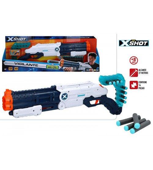 Pistole ar porol. šautriņām līdz 27 m X-Shot Vigilante ZURU 8 g+ CB46271