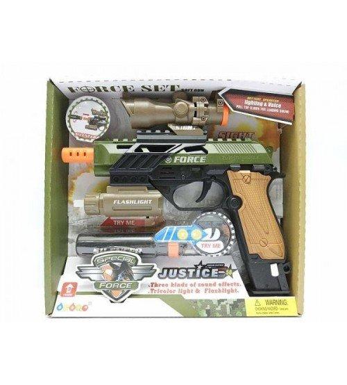 Pistole ar skaņu un gaismu 530157