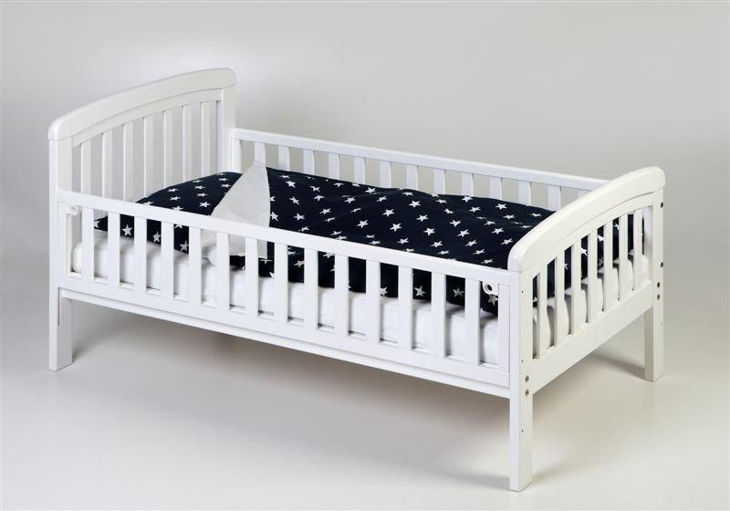 Pusaudžu gulta ar nolaižamu sānu TROLL Nicole White TBD-NC0357