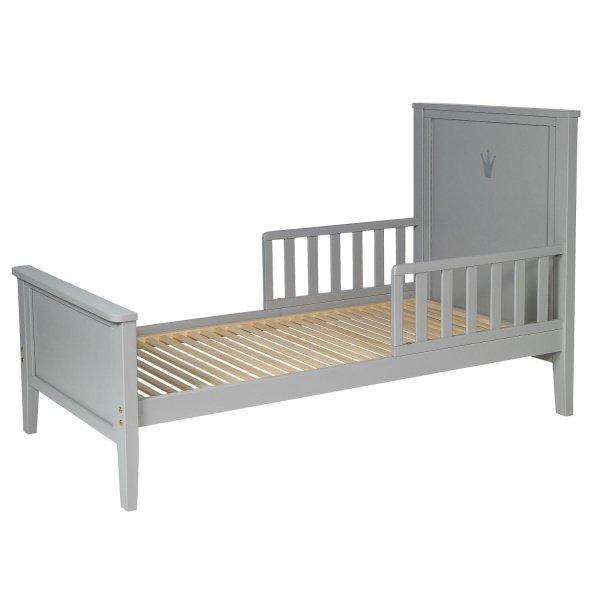 Pusaudžu gulta TROLL Royal Warm grey TDB-RY0360