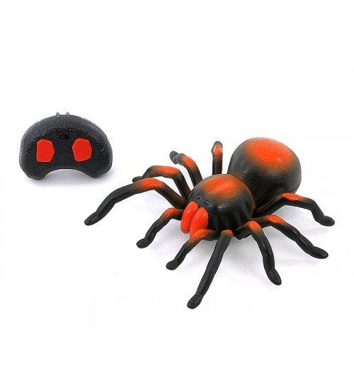 Radiovadāmāis zirneklis ar gaismu 20 cm 402348