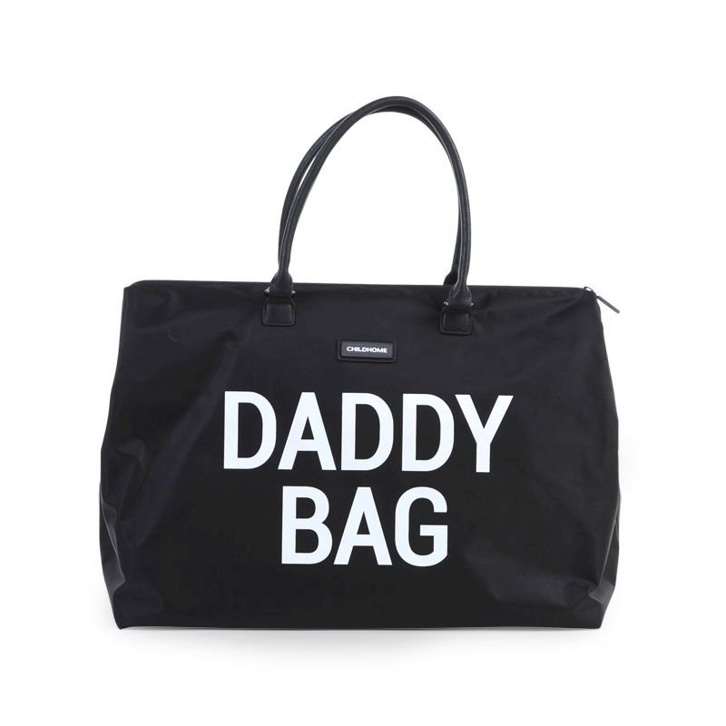 Ratiņu soma CHILDHOME Daddy Bag big black