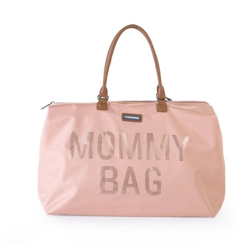 Ratiņu soma CHILDHOME Mommy Bag big pink