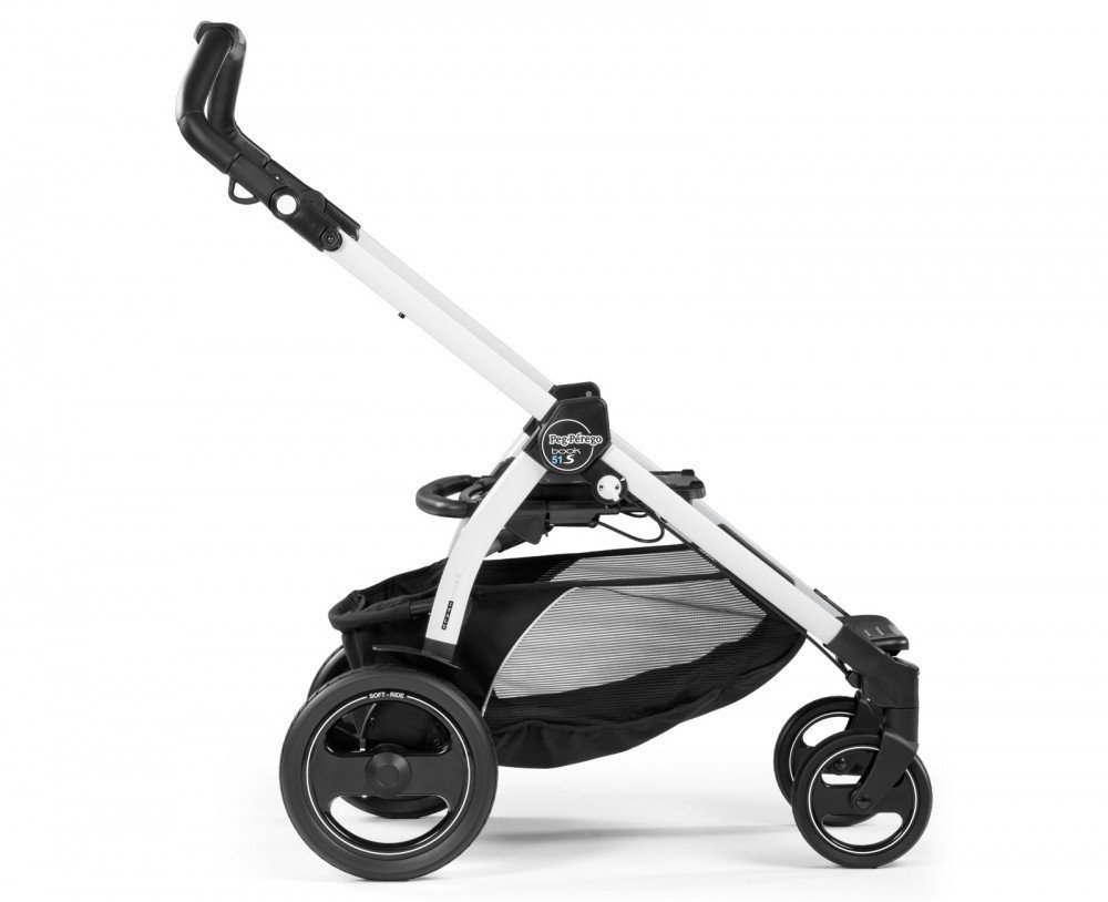 Ratu rāmis PEG-PEREGO Chassis Book 51 S Black & White ICBO0200NL54