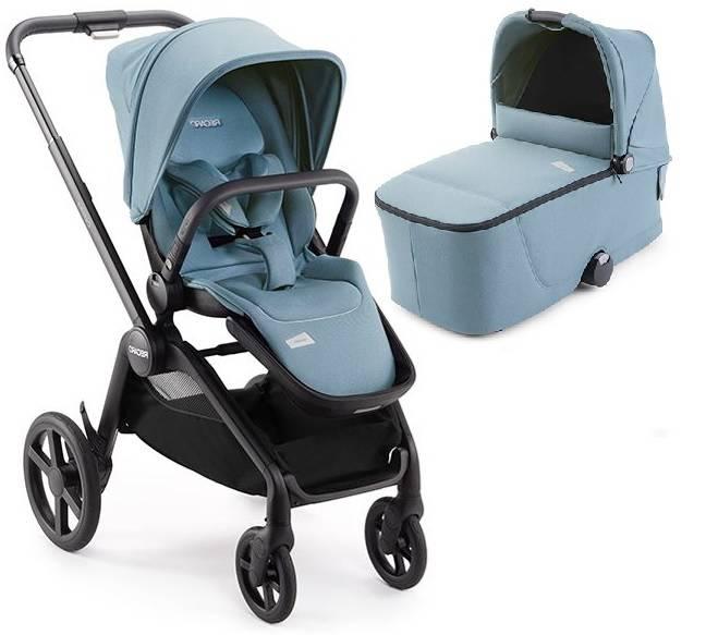 Recaro Celona Prime Frozen Blue Bērnu rati 2in1