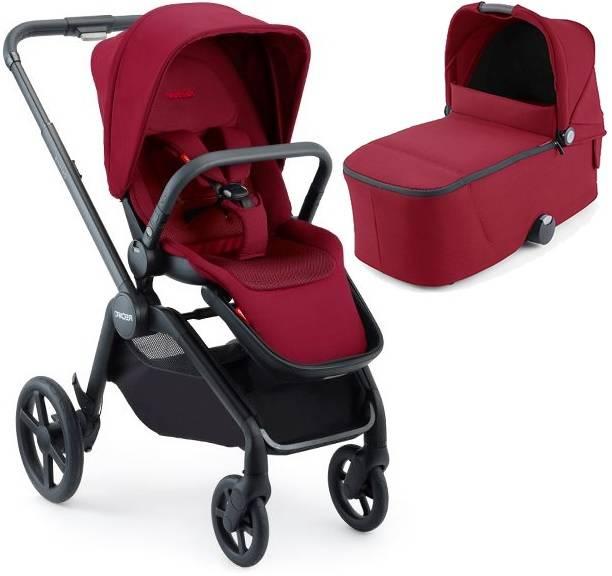 Recaro Celona Select Garnet Red Bērnu rati 2in1