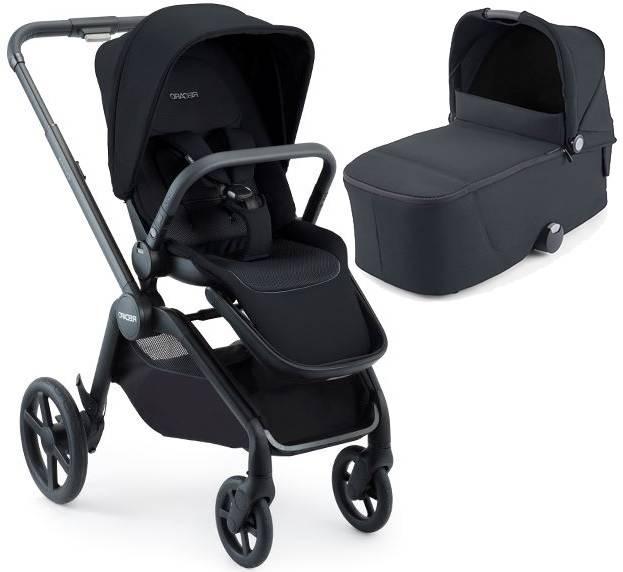 Recaro Celona Select Night Black Bērnu rati 2in1