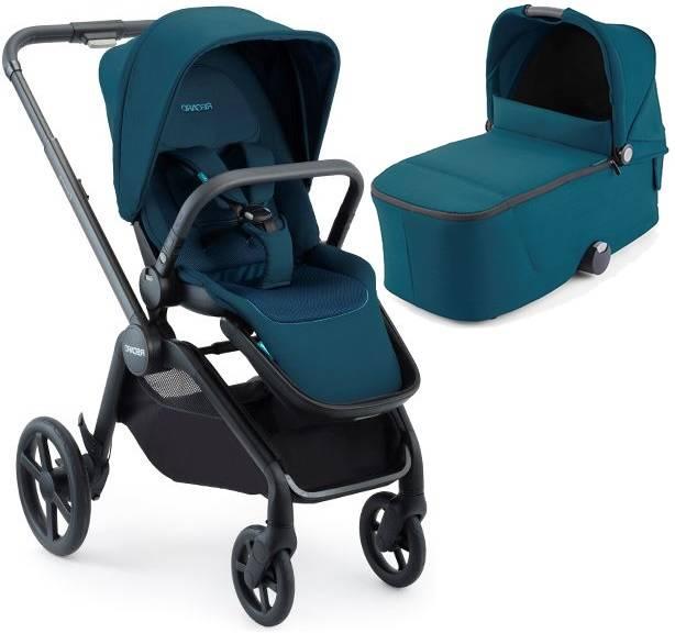 Recaro Celona Select Teal Green Bērnu rati 2in1