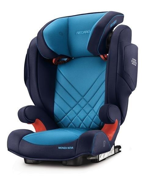 Recaro Monza Nova 2 Seatfix Core Xenon Blue Bērnu autosēdeklis 15-36 kg
