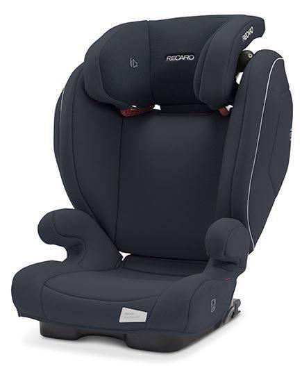 Recaro Monza Nova 2 Seatfix Prime Matt Black Bērnu autosēdeklis 15-36 kg
