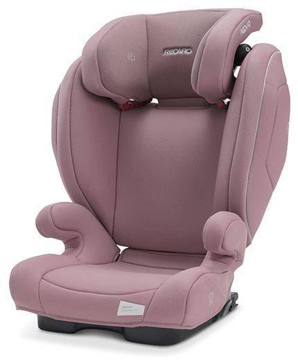 Recaro Monza Nova 2 Seatfix Prime Pale Rose Bērnu autosēdeklis 15-36 kg