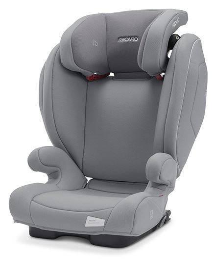 Recaro Monza Nova 2 Seatfix Prime Silent Grey Bērnu autosēdeklis 15-36 kg