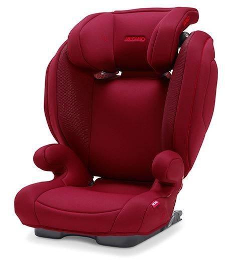 Recaro Monza Nova 2 Seatfix Select Garnet Red Bērnu autosēdeklis 15-36 kg