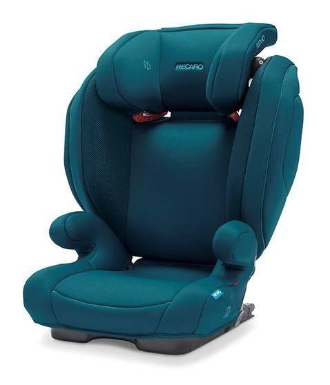 Recaro Monza Nova 2 Seatfix Select Teal Green Bērnu autosēdeklis 15-36 kg