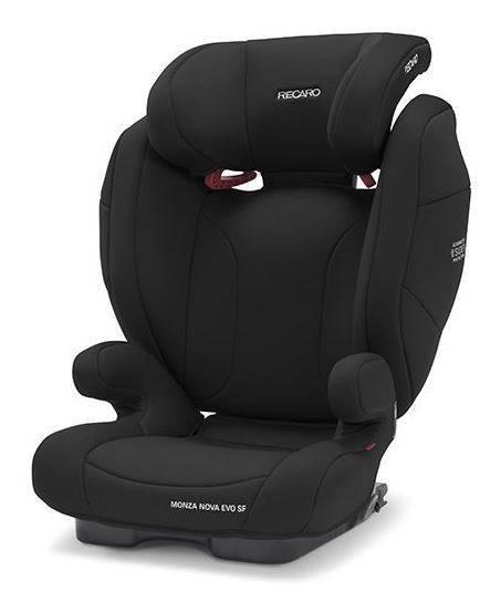 Recaro Monza Nova Evo Seatfix Core Deep Black Bērnu autosēdeklis 15-36 kg