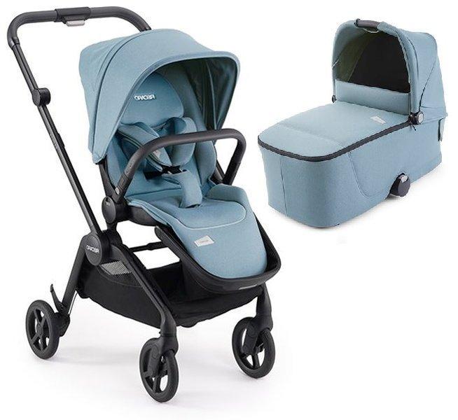 Recaro Sadena Prime Frozen Blue Bērnu rati 2in1