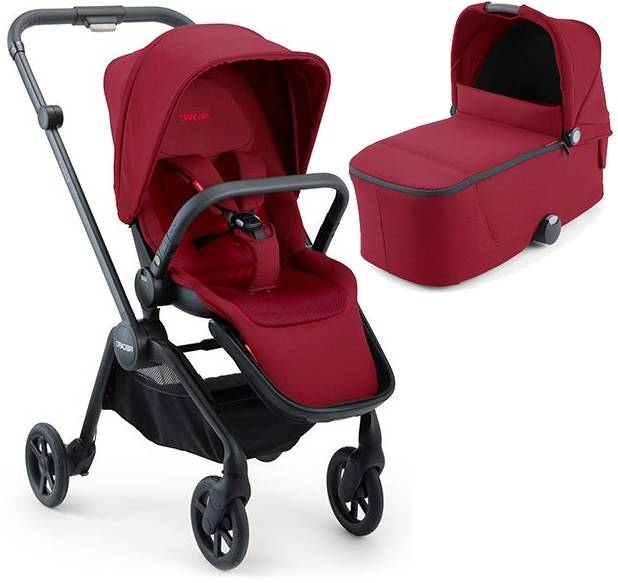 Recaro Sadena Select Garnet Red Bērnu rati 2in1