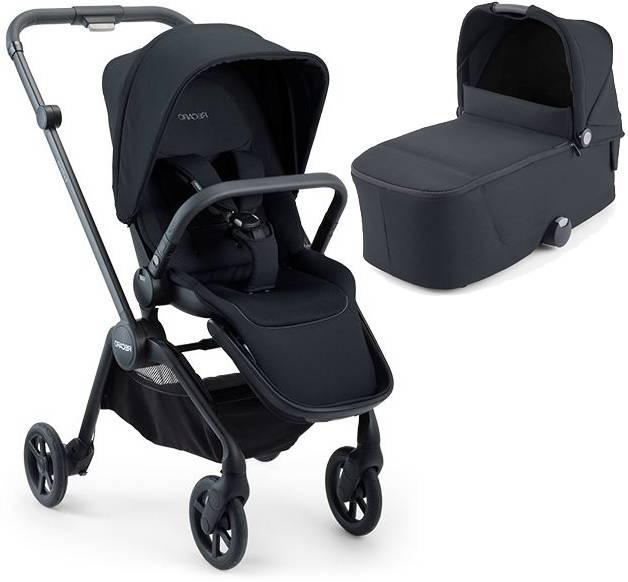 Recaro Sadena Select Night Black Bērnu rati 2in1