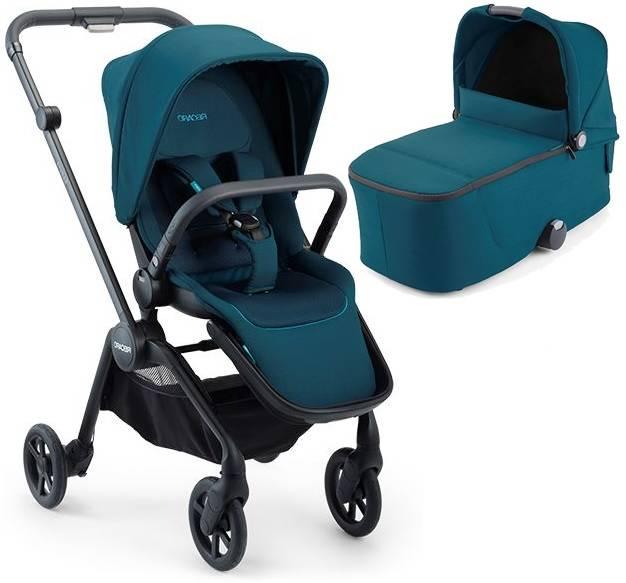 Recaro Sadena Select Teal Green Bērnu rati 2in1