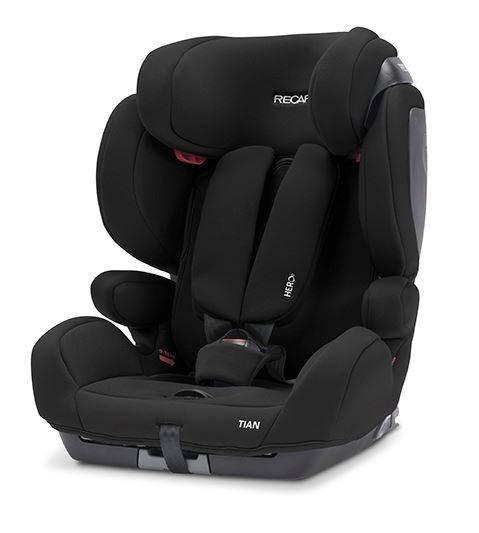 Recaro Tian Core Deep Black Bērnu autosēdeklis 9-36 kg