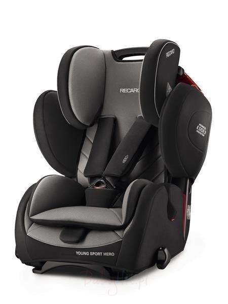 Recaro Young Sport Hero Core Carbon Black Bērnu autosēdeklis 9-36 kg