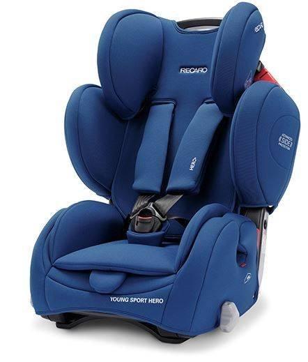 Recaro Young Sport Hero Core Energy Blue Bērnu autosēdeklis 9-36 kg