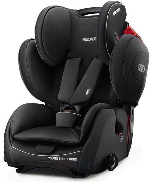 Recaro Young Sport Hero Core Performance Black Bērnu autosēdeklis 9-36 kg