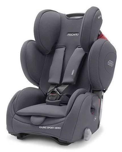 Recaro Young Sport Hero Core Simply Grey Bērnu autosēdeklis 9-36 kg