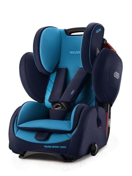 Recaro Young Sport Hero Core Xenon Blue Bērnu autosēdeklis 9-36 kg