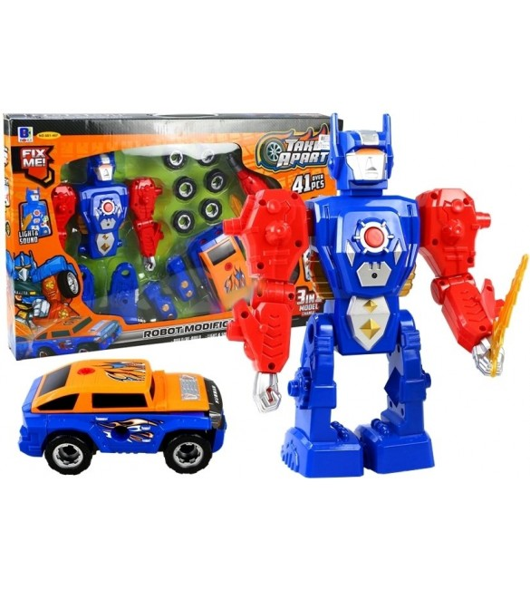 Robots + automašīna saskrūvēšanai 88387