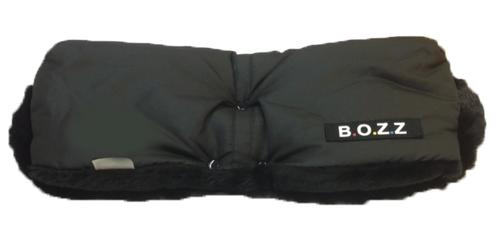 Roku Mufta Bozz HandMuff black melange 60-159-15