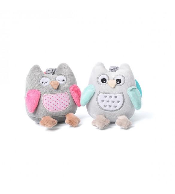 Rotaļlieta ar vibrāciju Babyono OWL SOFIA   442
