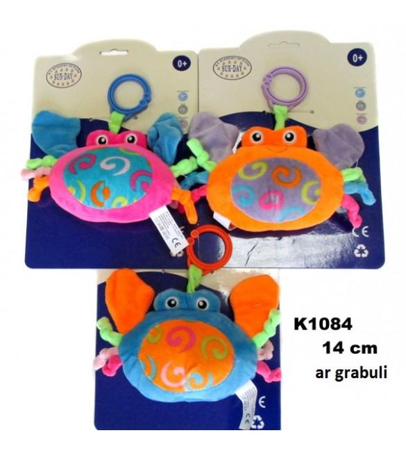 Rotaļlieta grābulis Krabītis 14 cm SUN DAY K1084