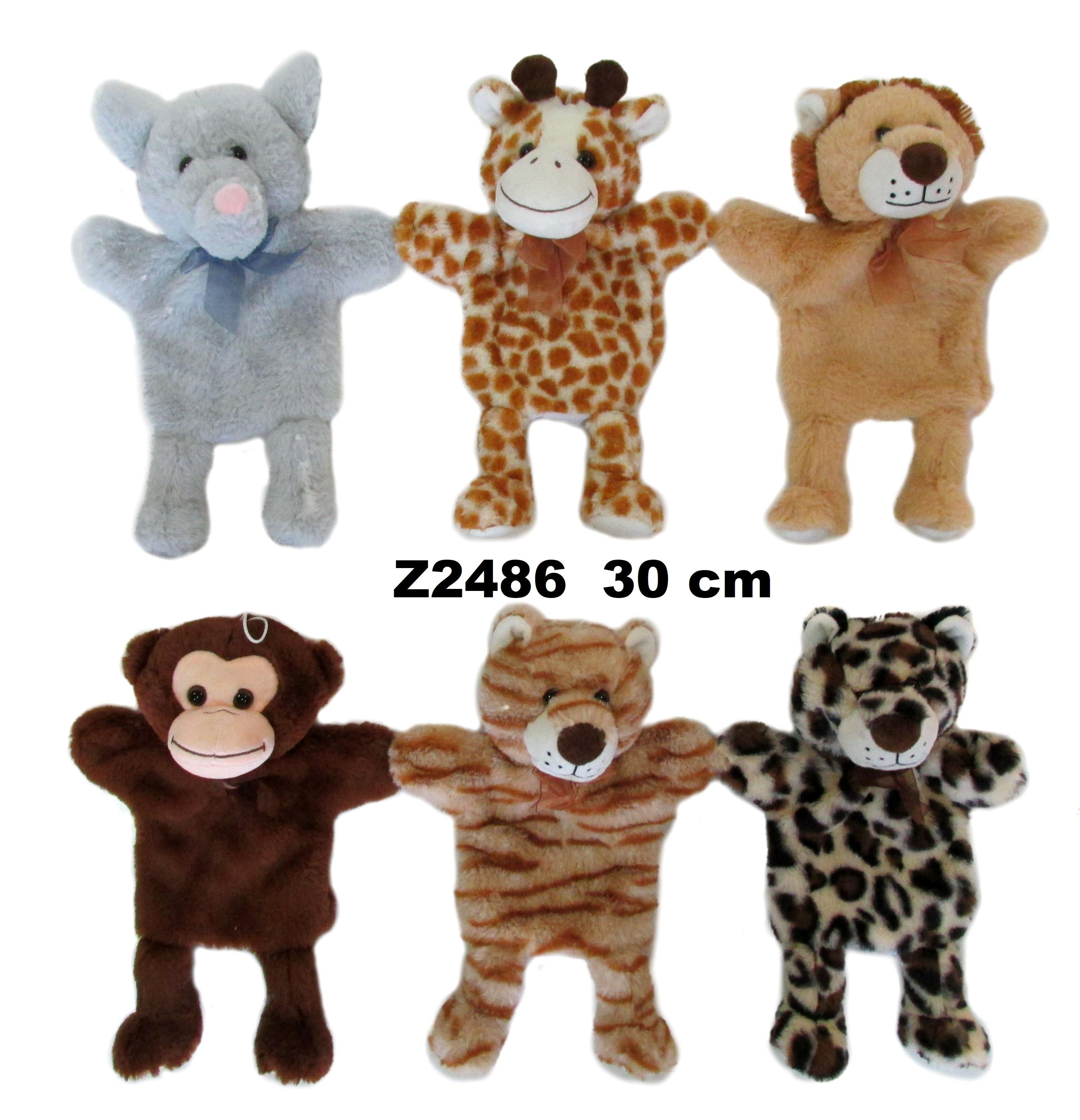 Rotaļlieta marionete Zvēriņš 30 cm SUN DAY Sandy Z2486