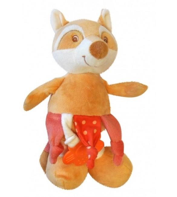 Rotaļlieta Plīša LAPSA ar pīkstuli un zobu graužamo BoBoBady ZW-10