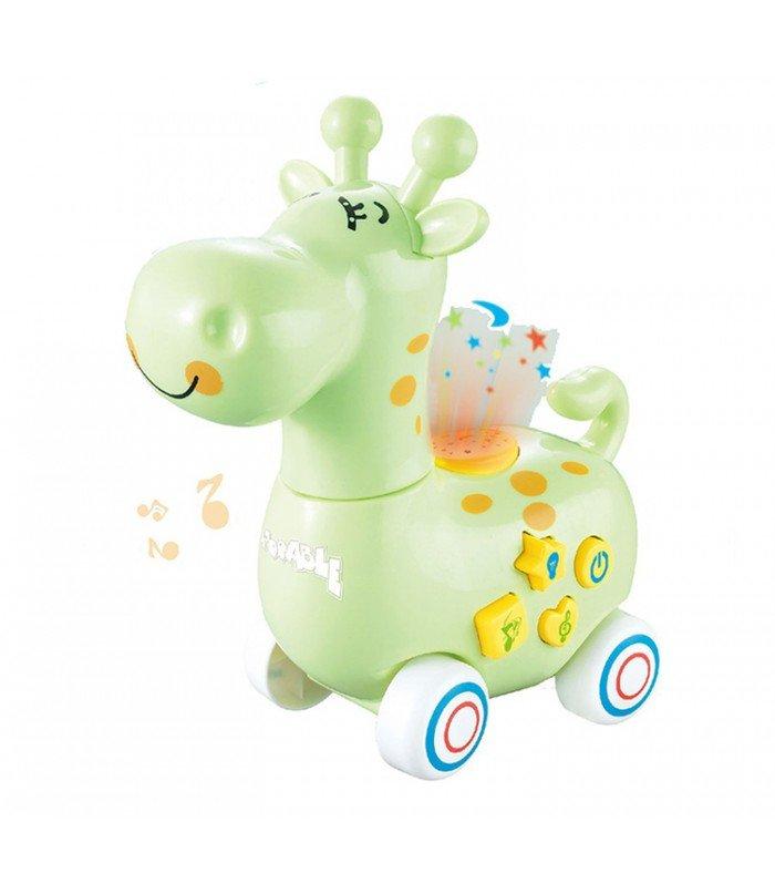 Rotaļu interaktīvais dzīvnieciņš bērniem žirafe B16