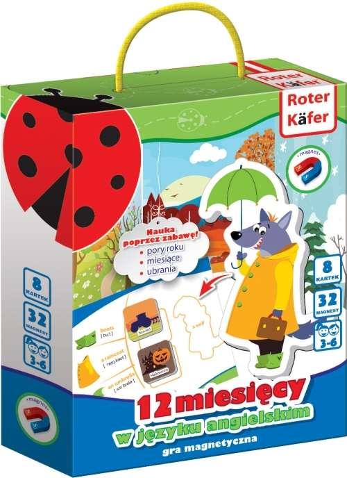 Roter Käfer Magnetic Figures 12 mēneši angļu valodā