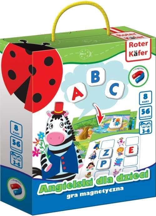 Roter Käfer Magnetic Figures Angļu valoda bērniem