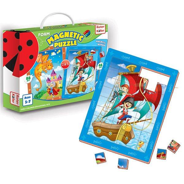 Roter Käfer Magnētiskās puzles  Pirates