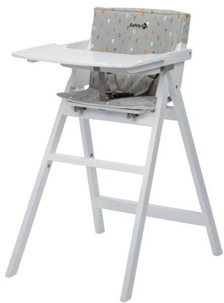 Safety 1st Nordik White + Grey Pillow Koka barošanas krēsliņš