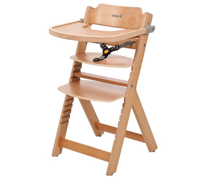 Safety 1st Timba Natural Wood 3in1 Barošanas krēsliņš